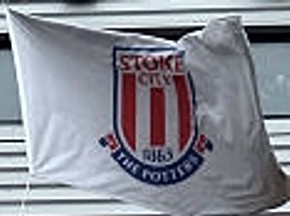 [Flag of Stoke City FC]