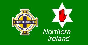 [Northern Ireland football supporters flag]