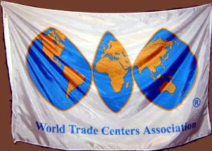 [World Trade Centers Association flag]