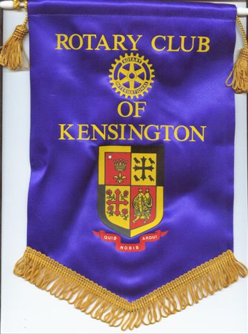 [Flag of Rotary Kensington, UK]