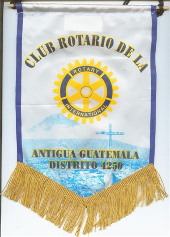 [Flag of Rotary Antigua, Guatemala]
