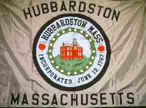 [Flag of Hubbardston, Massachusetts]