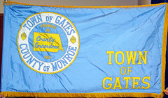 [Flag of Town of Gates, New York]