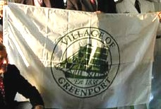[Flag of Village of Greenport, New York]