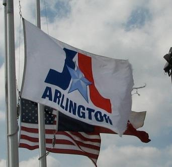 [Flag of Arlington, Texas]