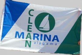 [Alabama Clean Marina flag]